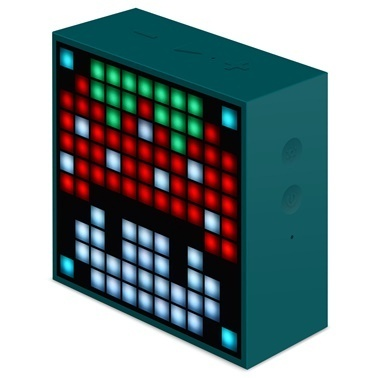 Divoom Divoom TimeBox Mini Pixel Art Smart Yeşil Bluetooth Hoparlör Yeşil